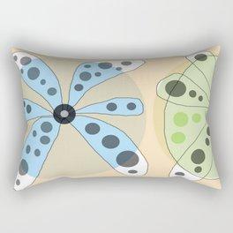 FLOWERY KATE / ORIGINAL DANISH DESIGN bykazandholly Rectangular Pillow