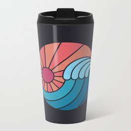 Sun & Sea Metal Travel Mug