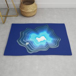 Mysterious Well - Great BLUE Rug