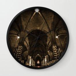 Glasgow University Cloisters Wall Clock