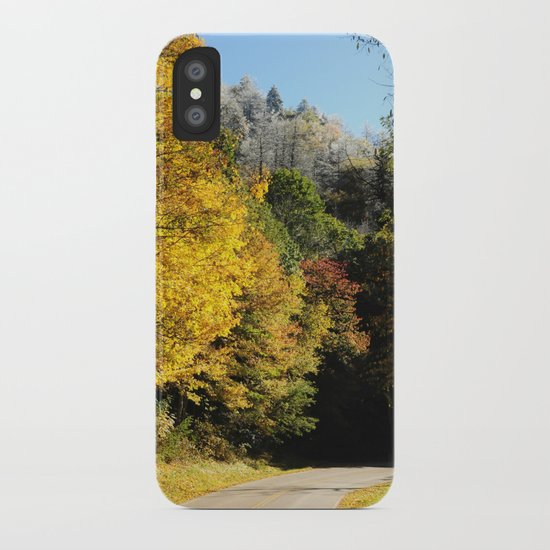 Down this road iPhone Case