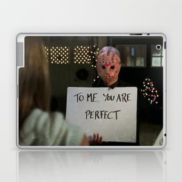 JASON VORHEES IN LOVE ACTUALLY Laptop & iPad Skin