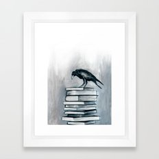 I Don't Read As Much As I'd Love To Anymore Framed Art Print