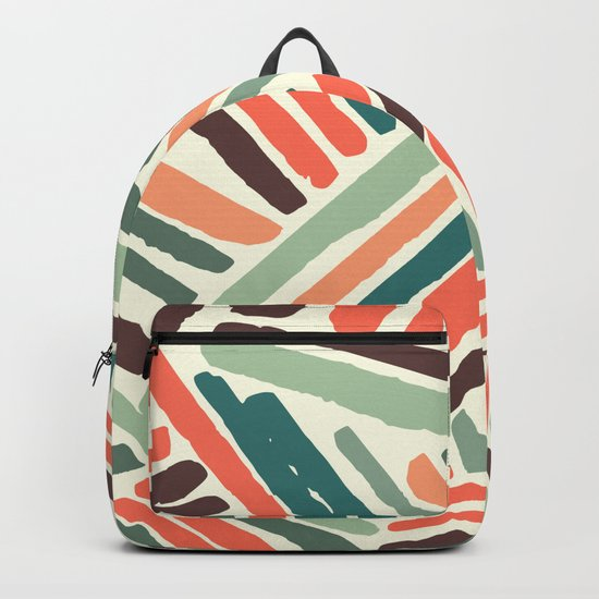 Color stitch Backpack