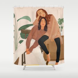 Ladies Shower Curtain