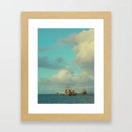 Ocean Nets Framed Art Print