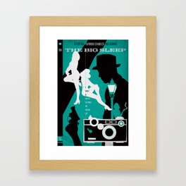 Hardboiled :: The Big Sleep :: Raymond Chandler Framed Art Print