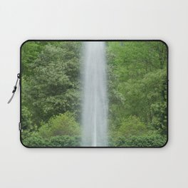 Fountain and Trees Laptop Sleeve