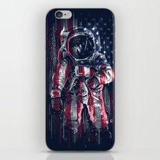 Astronaut Flag iPhone & iPod Skin