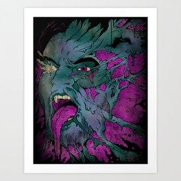 Breaking Apart Art Print
