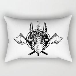 Viking Warrior | Valhalla Odin Asgard Midgard Rectangular Pillow