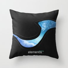 elements | water Throw Pillow