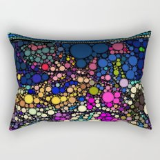 Stained Glass Jewels Rectangular Pillow