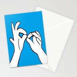 ASL Interpret Stationery Cards