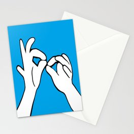 ASL Interpret Stationery Cards