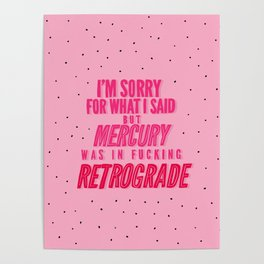 Mercury Retrograde pt. 2 Poster
