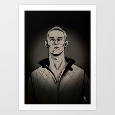 Ryan by night Art Print