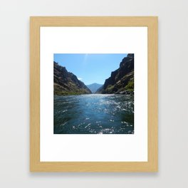Hells Canyon Framed Art Print