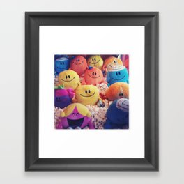 Mr Men Framed Art Print