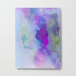 Abstract Cloud Formation Metal Print