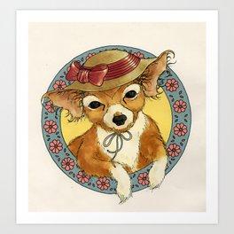 your dog Art Print