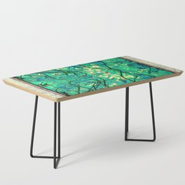 CHESTNUT FOLIAGE FANTASY ABSTRACT Coffee Table