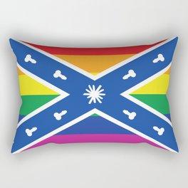 Gay Confederacy Rectangular Pillow