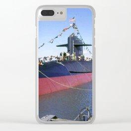 USS DANIEL BOONE (SSBN-629) Clear iPhone Case