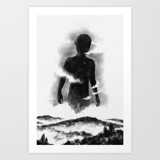 The destroyer of worlds Art Print
