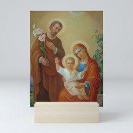 Holy Family With The Vine Tree Mini Art Print