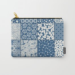 Tile Patchwork Carry-All Pouch