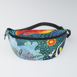 Ocean Tropical Fish Life Fanny Pack