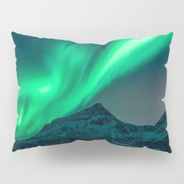 Aurora Borealis (Northern Lights) Pillow Sham