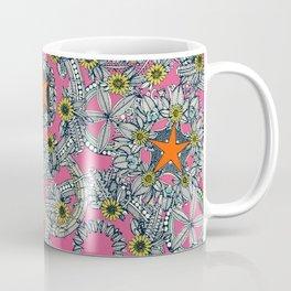 cirque fleur candy orange star Coffee Mug
