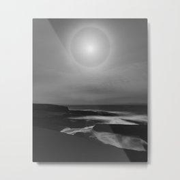 Lunar Coast Metal Print