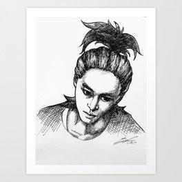 Yixing Art Print