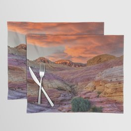 Sunset 0094 - Valley of Fire State Park, Nevada Placemat