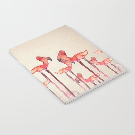 Transmogrified Flamingo Colony Notebook