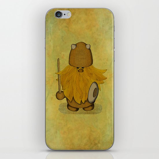 Hirsute Viking Homunculus iPhone & iPod Skin