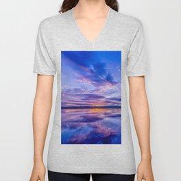 Scottish Sunset Unisex V-Neck