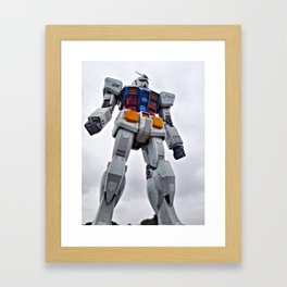 Mobile Suit Gundam Framed Art Print