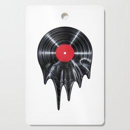 Melting vinyl / 3D render of vinyl record melting Cutting Board