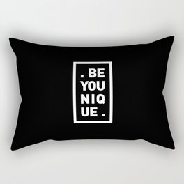 YOU AND YOURSELF (BLK) Rectangular Pillow