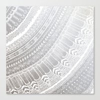 silver Canvas Prints featuring Silver by rskinner1122