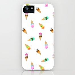 Ice Cream Bubbys iPhone Case