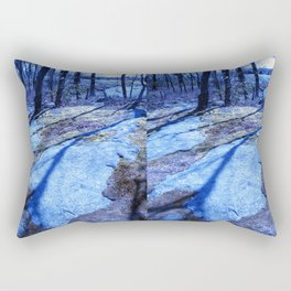 the right path Rectangular Pillow