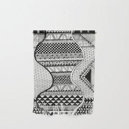 Wavy Geometric Patterns Wall Hanging