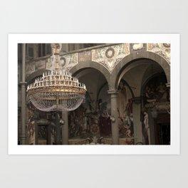 The Ballroom - Florence - Tuscany Art Print