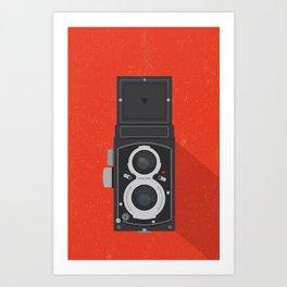 Classic TLR camera Art Print