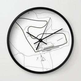 Red Ring, Spielberg, Austria Wall Clock